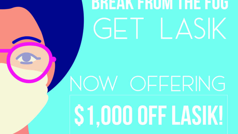 $1000 Off LASIK With A Free Consultation