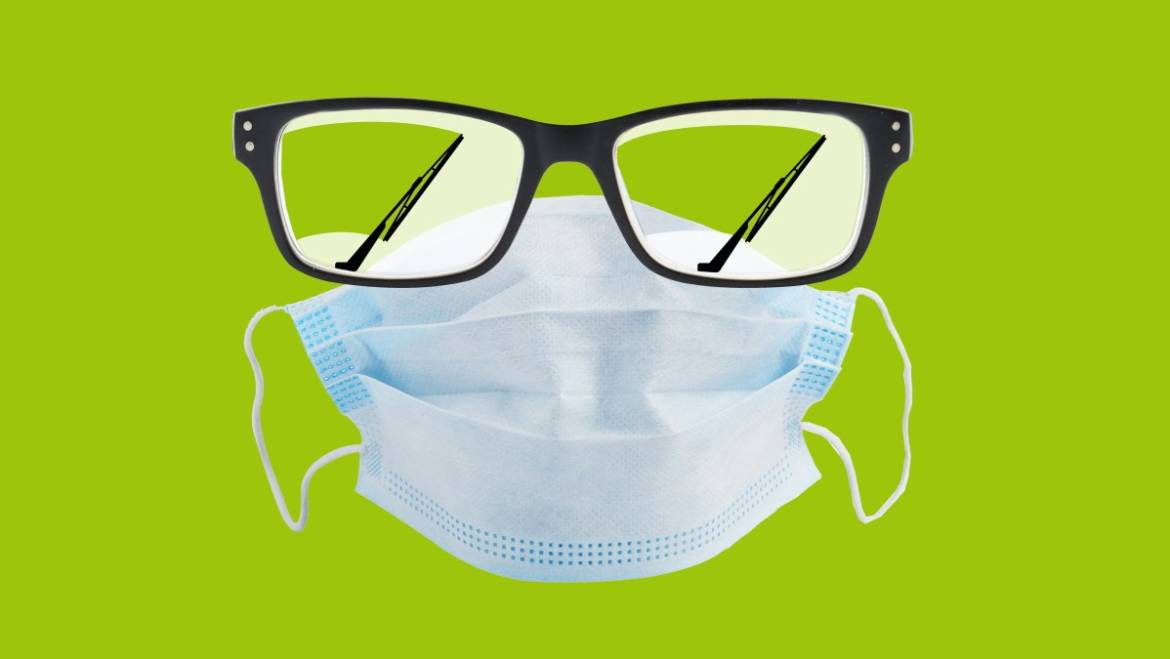 How to Keep Your Glasses From Fogging Up While Wearing a Mask